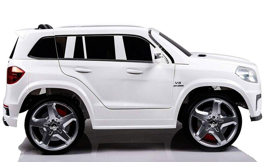 Come quella vera: l'auto elettrica a due posti Mondial Toys SUV Mercedes GL63 AMG renderà i vostri figli felicissimi