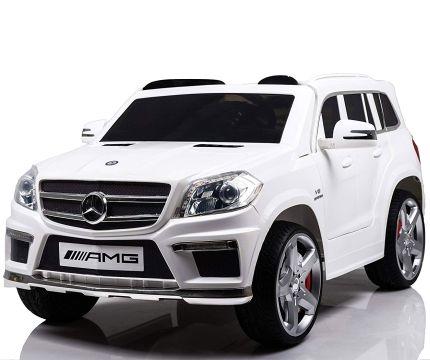 Auto elettrica a due posti Mondial Toys SUV Mercedes GL63 AMG con telecomando parentale per bambini dai 3 anni
