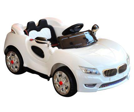 Auto elettrica ad 1 posto HomCom rossa con telecomando parentale per bambini dai 2 anni d'età