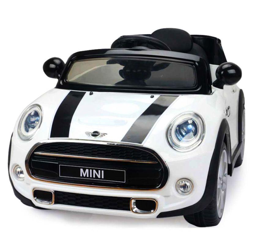 Auto elettrica Lamas Toys Mini Cooper con radio MP3 e telecomando parentale per bambini dai 3 anni d'età