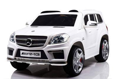 Migliore auto elettrica a due posti Mondial Toys SUV Mercedes GL63 AMG con telecomando parentale per bambini dai 3 anni