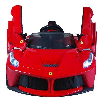 La migliore auto elettrica per bambini Ferrari LaFerrari, auto sportiva rossa a batteria a prezzi scontati fino al 70%
