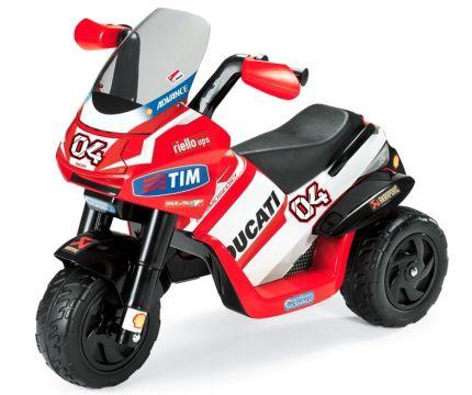 Moto elettrica a 3 ruote Peg Pérego Ducati Desmosedici per bambini dai 2 anni d'età