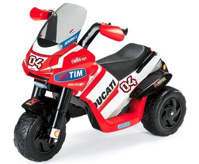 Motor elettrica migliore Peg Pérego Ducati Desmosedici a tre ruote per bembini dai 2 anni