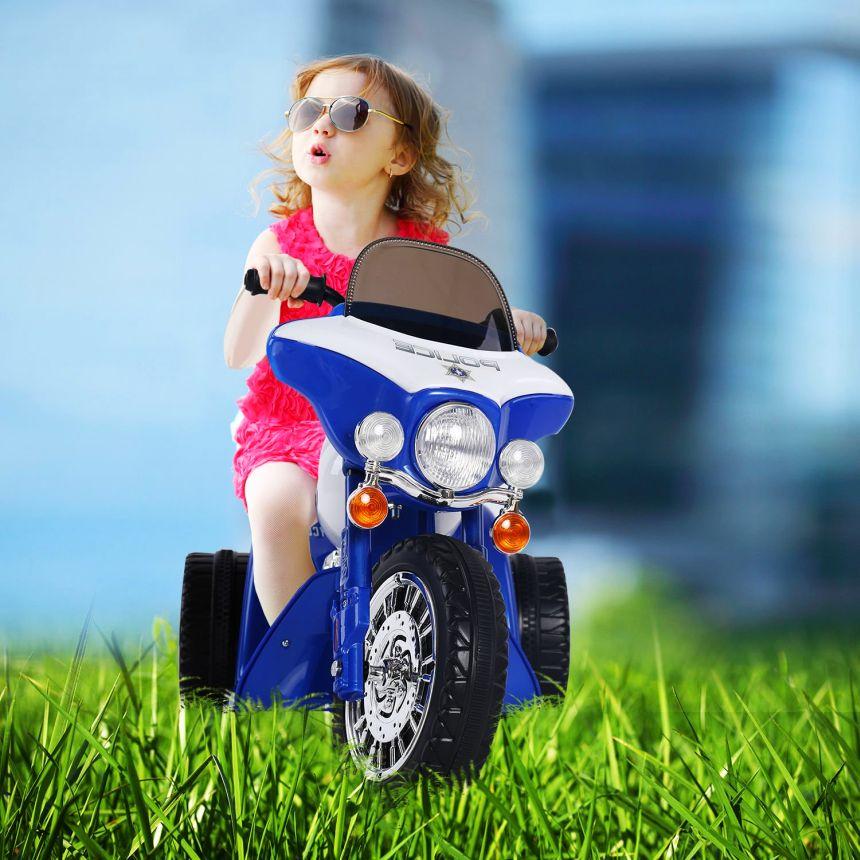 La moto elettrica HomCom garantirà ai vostir figli ore di divertimento assicurato, in piena sicurezza